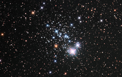 NGC457, The E.T. Cluster